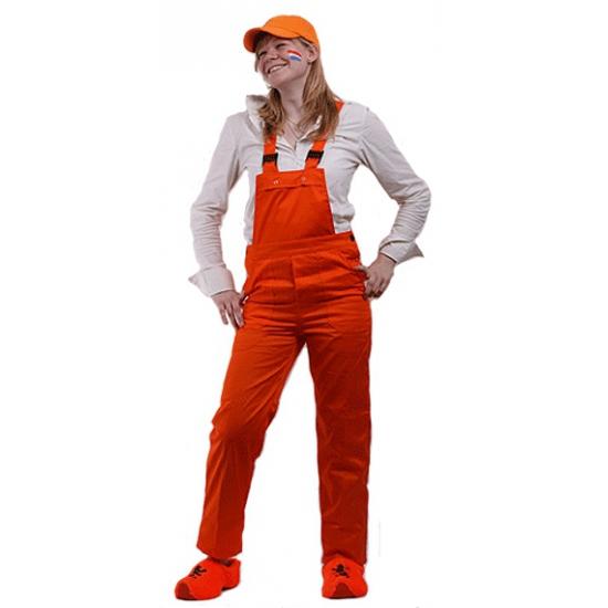 Oranje tuinbroeken