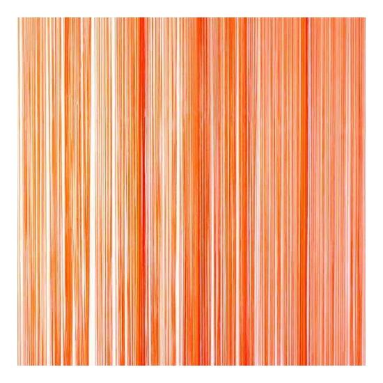 Oranje vliegengordijn