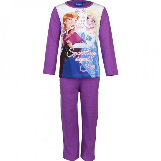 Paarse kinder pyjama Frozen