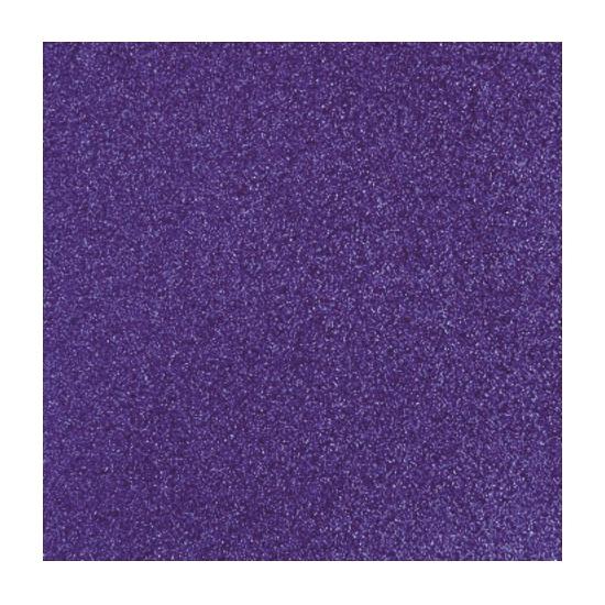 Papier glitter paars vel