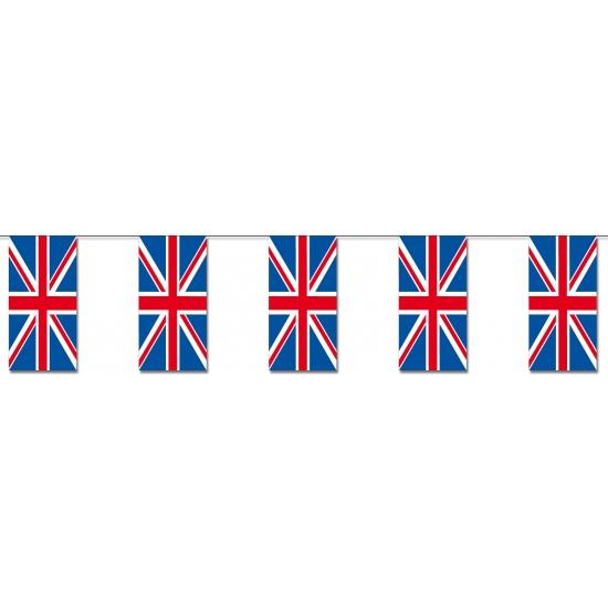 Engelse vlaggetjes papier