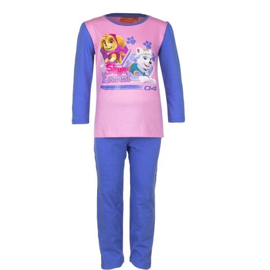 Paw Patrol korte pyjama kinderen blauw