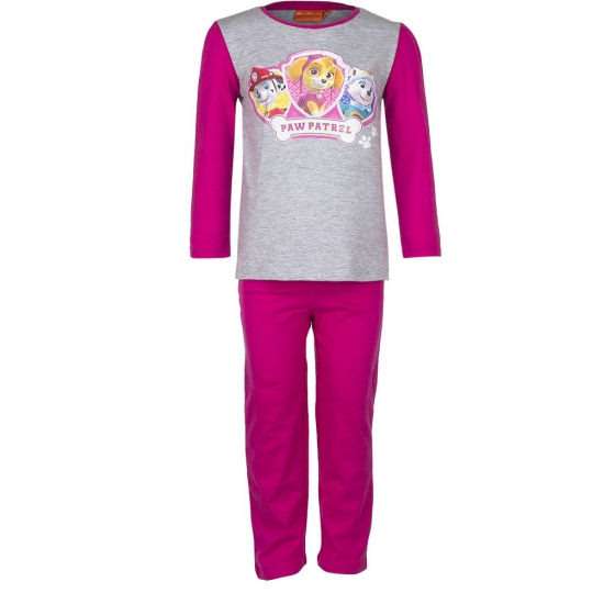 Paw Patrol korte pyjama kinderen roze