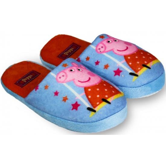 Peppa pig kindersloffen blauw
