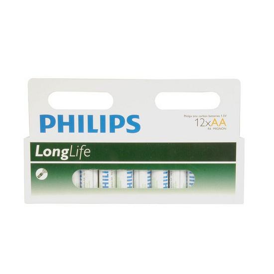 Philips AA batterijen 12 stuks