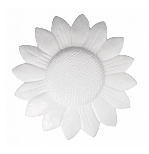 Piepschuim figuren zonnebloem 15 cm