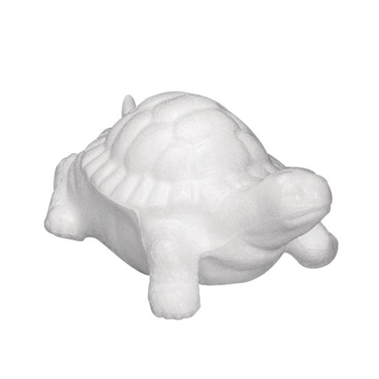 Piepschuim schildpad 12 cm