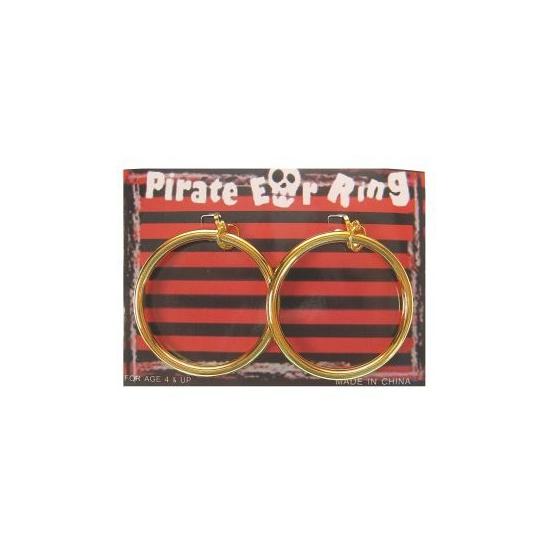 Piraten accessoires oorbellen