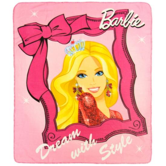 Plaid Barbie 120 x 140 cm