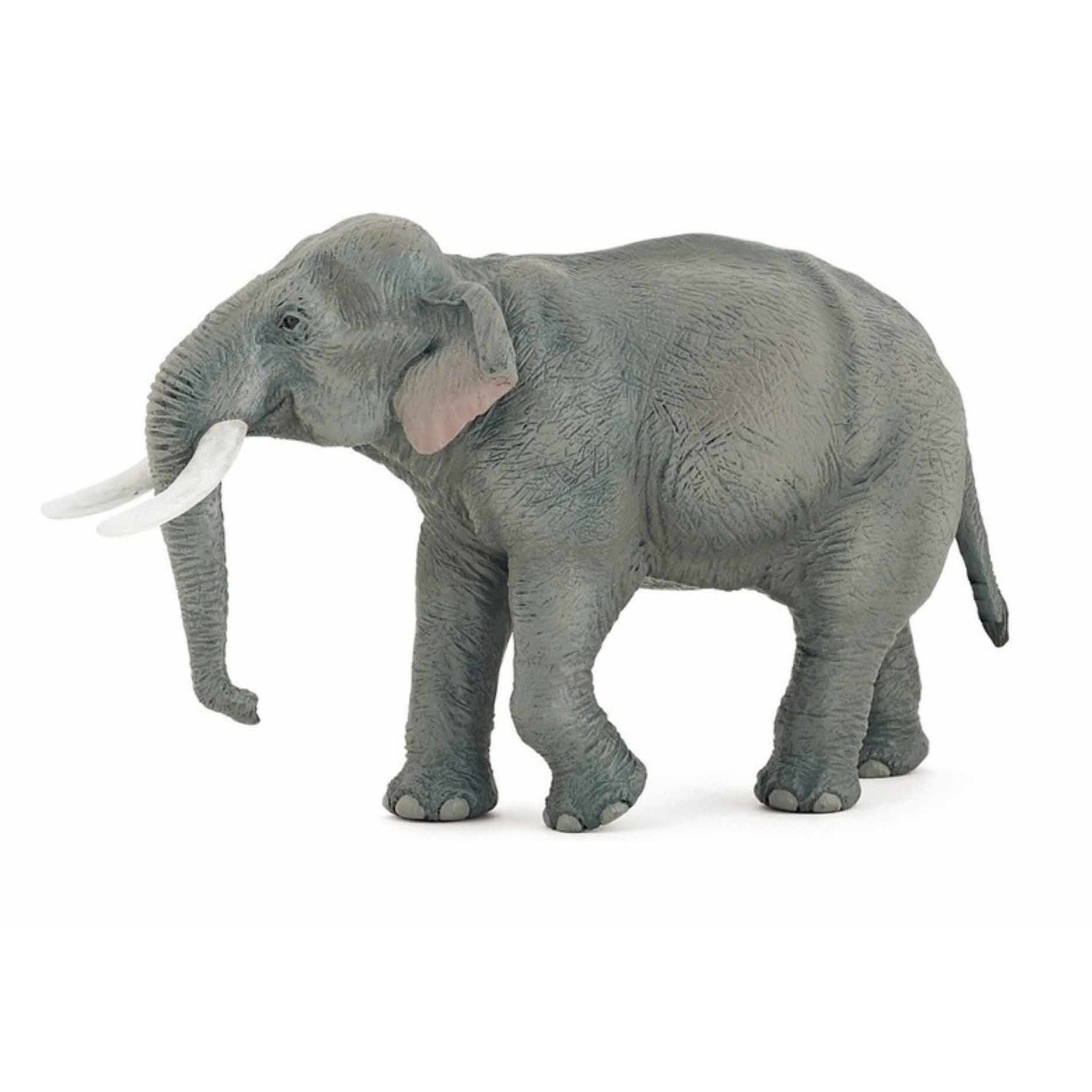 Plastic Aziatische moeder olifant 14.5 cm