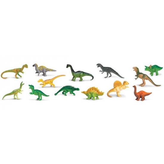 Plastic dinosaurussen 13 stuks