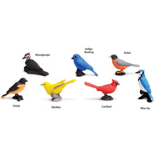Plastic vogels