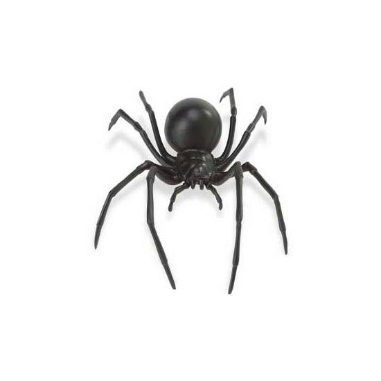 Plastic zwarte weduwe spin