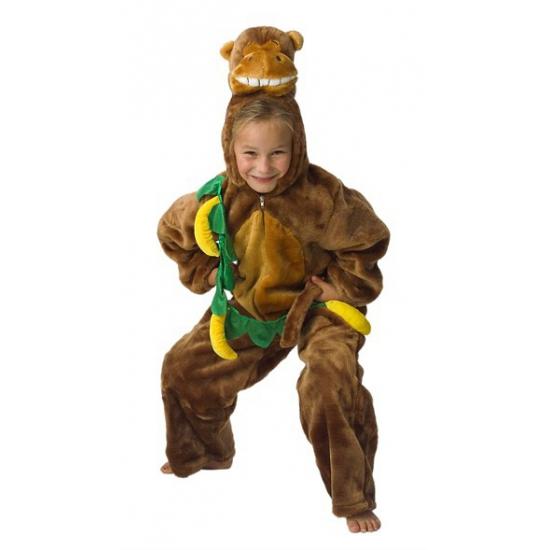 Pluche dieren verkleed kleding aap