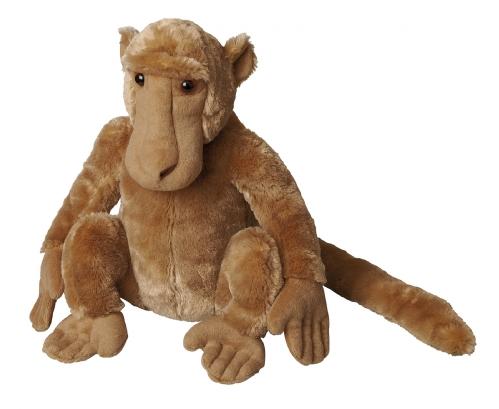 Pluche baviaan knuffel 30 cm