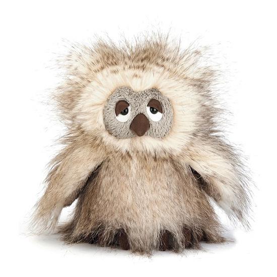 Pluche knuffel uil Ania 23 cm