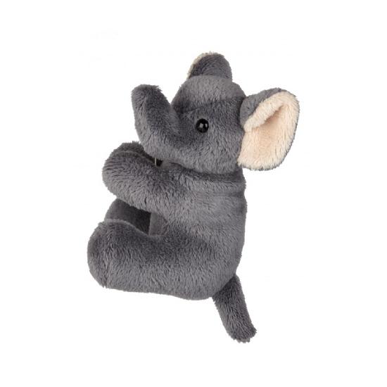 Pluche olifant klemmetje 10 cm