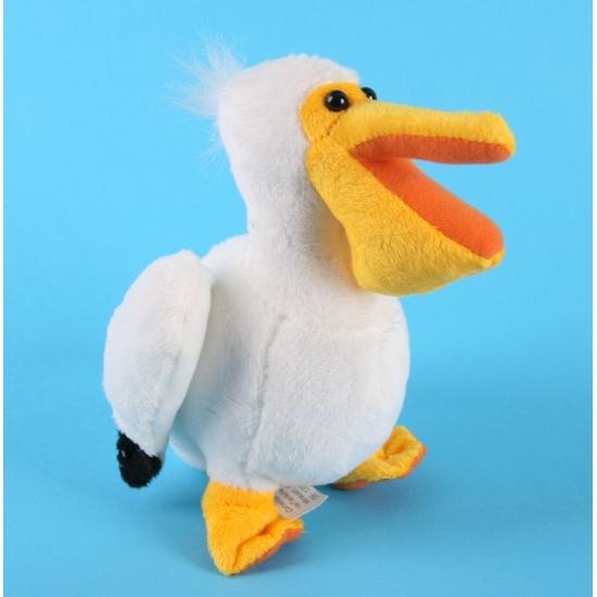 Pluche pelikaan knuffel 17 cm