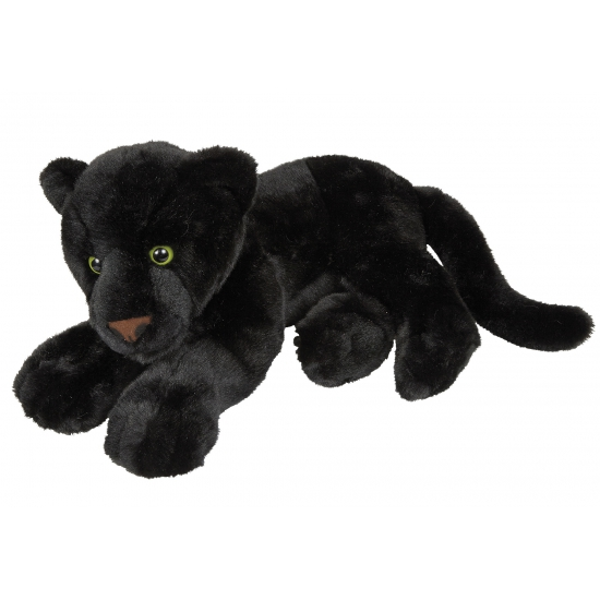 Pluche zwarte panter 50 cm