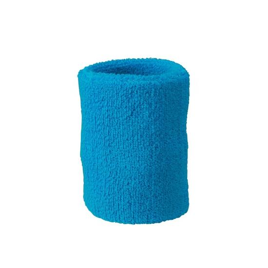 Pols zweetbandjes turquoise