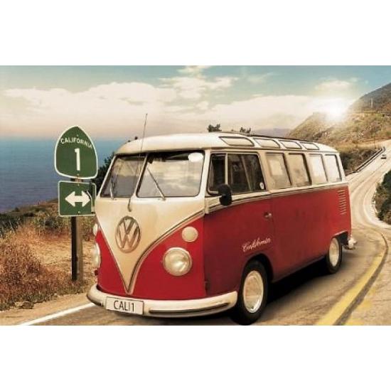 Poster Volkswagen Camper 61 x 91,5 cm