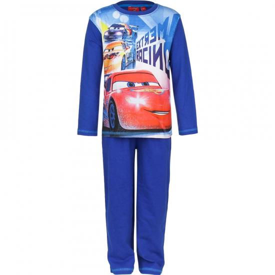 Pyjama Cars licht blauw