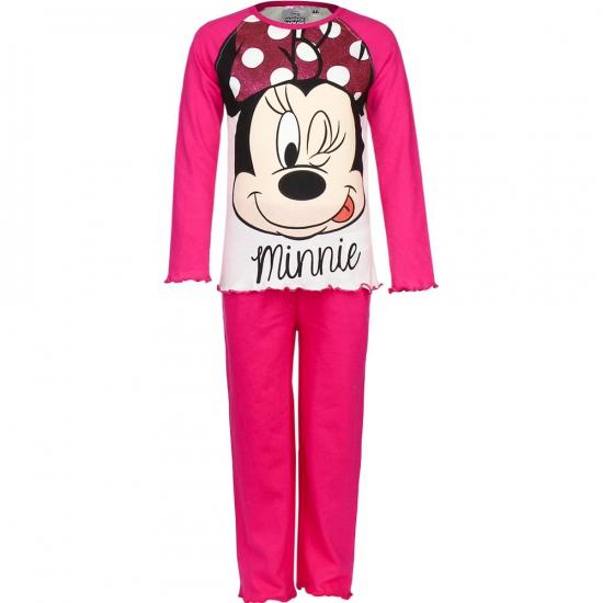 Pyjama Minnie Mouse roze