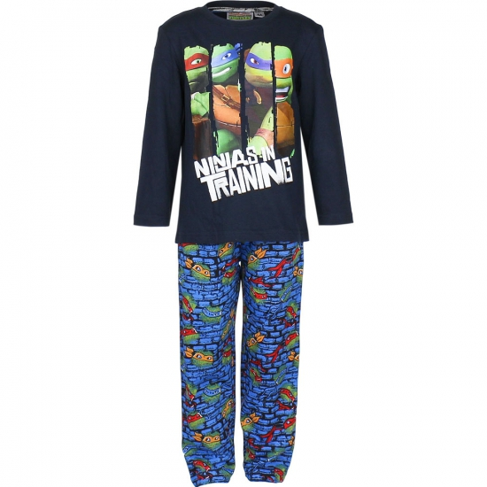 Pyjama Ninja Turtles donker blauw