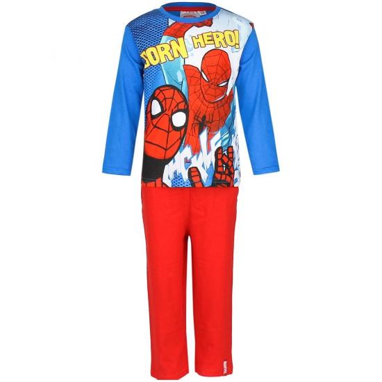 Pyjama Spiderman blauw rood