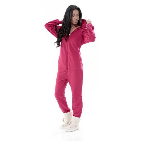 Pyjamapak voor dames fuchsia roze