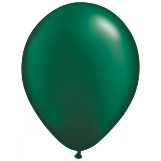 Ballonnen donker groen qualatex