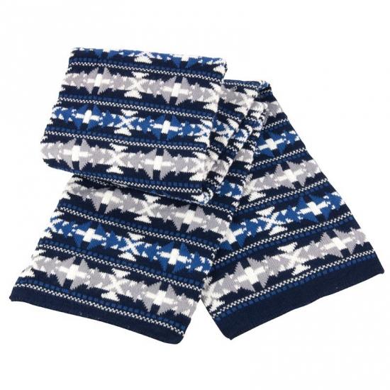Result sjaal met Noorse print