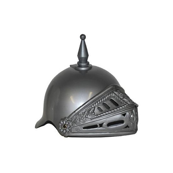 Ridder helmen zilver