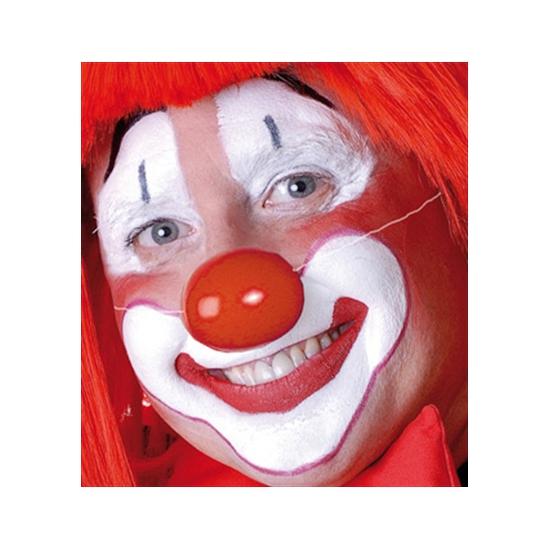 Rode clowns neus elastiekje