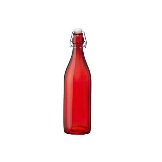 Rode fles Bormioli Rocco