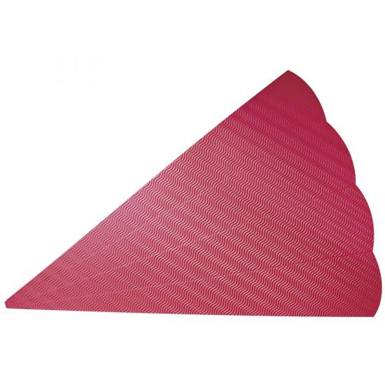 Rode kartonnen schoolzak 68 cm
