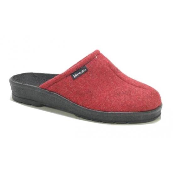 Rode muiltjes sloffen rubber