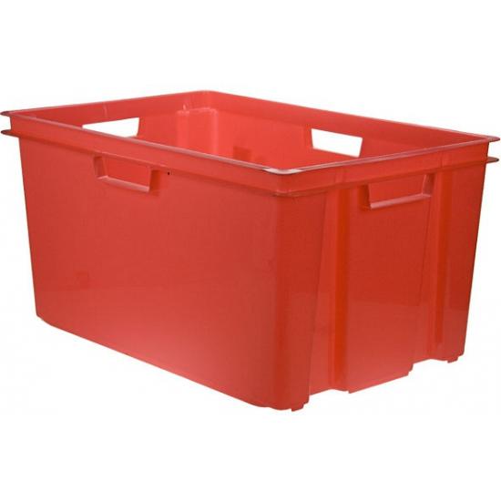 Rode opbergboxen 60 cm