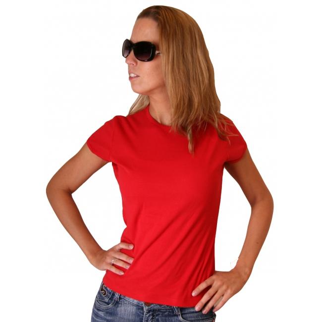 Rood dames t shirt Bella