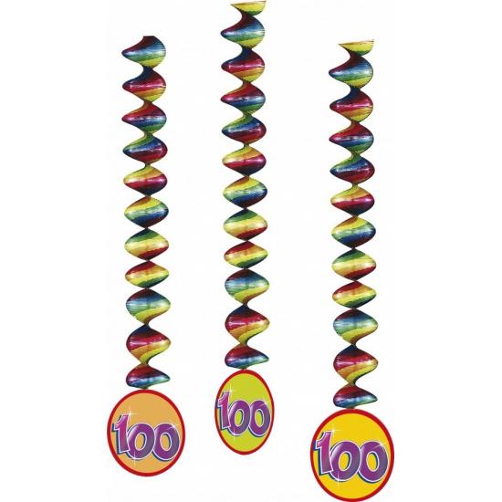 100 jaar feest decoratie spiralen