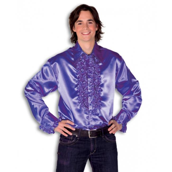 Paarseheren rouche overhemd