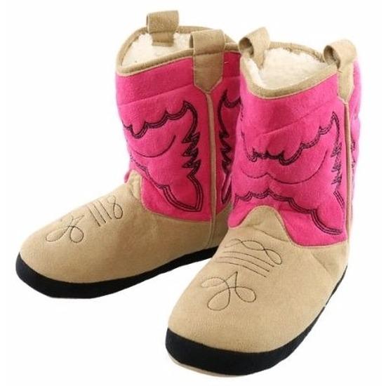 Roze cowboylaars sloffen voor meisjes