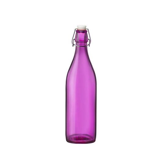 Roze fles Bormioli Rocco