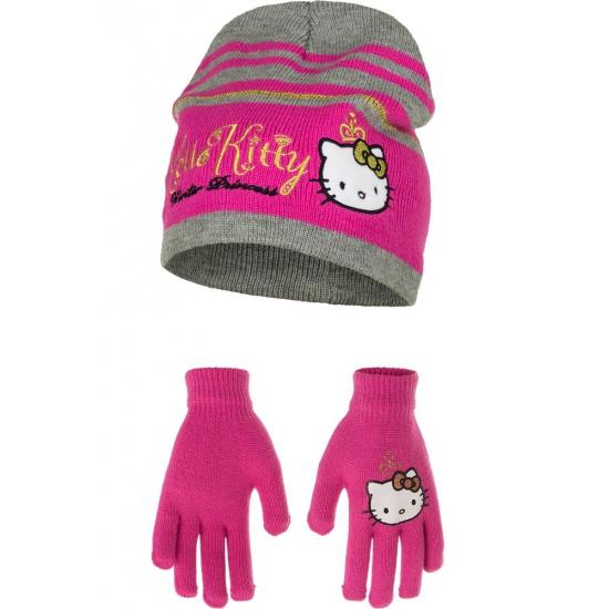 Roze Hello Kitty winterset