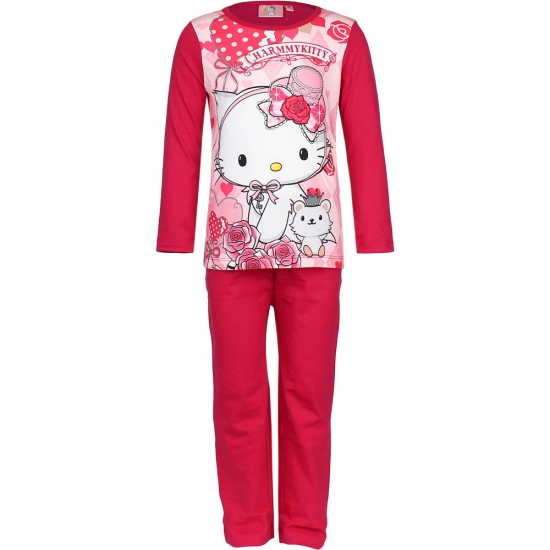 Roze kinder pyjama Hello Kitty