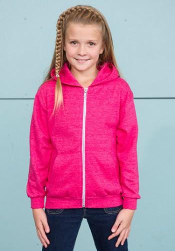 Roze meisjes sweaters capuchon