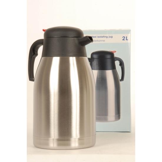 RVS isoleerkan 2 liter