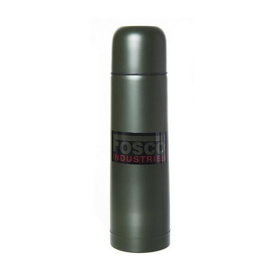 RVS thermosfles 0,5 liter donkergroen