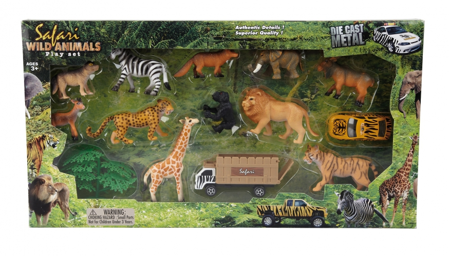 Safari speelset 14 delig