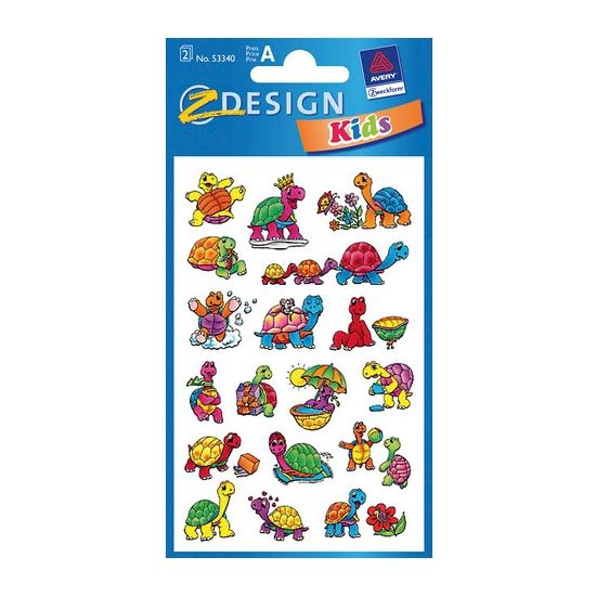Schildpad stickers 2 vellen